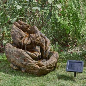 fontaine de jardin en pierre achat vente fontaine de. Black Bedroom Furniture Sets. Home Design Ideas