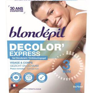 DÉCOLORATION POILS BLONDEPIL Gel décolorant Decolor'express - Pour co