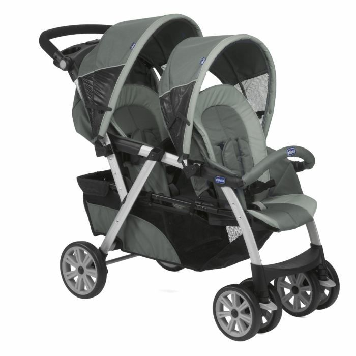 Chicco poussette double together graphite graphite achat vente poussette 8003670877431 - Porte bebe double pour jumeaux ...