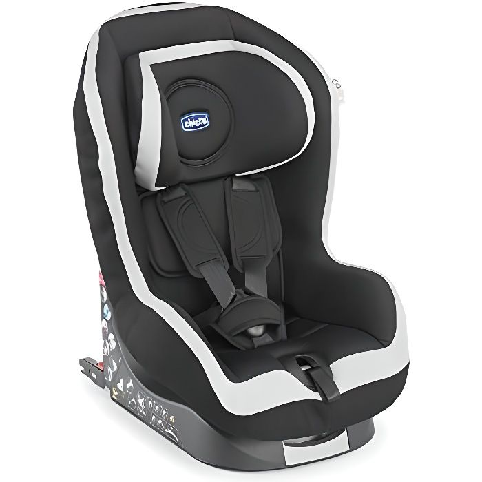 Chicco Siège Auto Go One Isofix Groupe 1 Coal Achat Vente