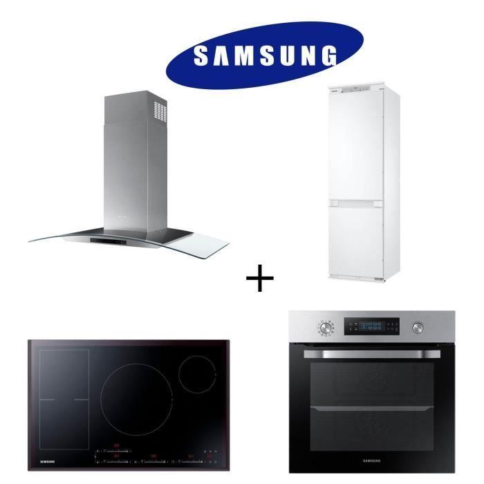 PACK CUISSON SAMSUNG BRB260000WW réfrigérateur + NV66M3571BS Four + NZ84F7NC6AB/EF Table de cuisson
