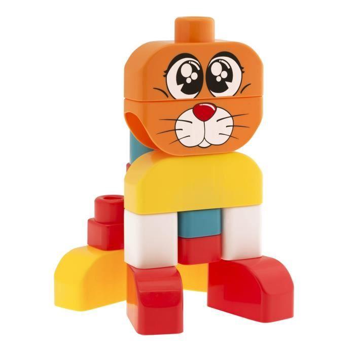 CHICCO App Toys Blocks Chien et Chat 15 pcs