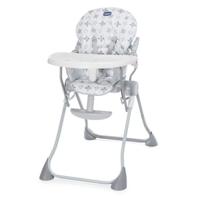 CHICCO Chaise haute POCKET MEAL Light grey