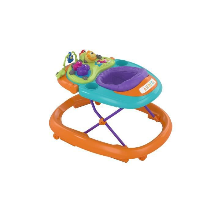 CHICCO Trotteur WALKY TALKY Orange Wave