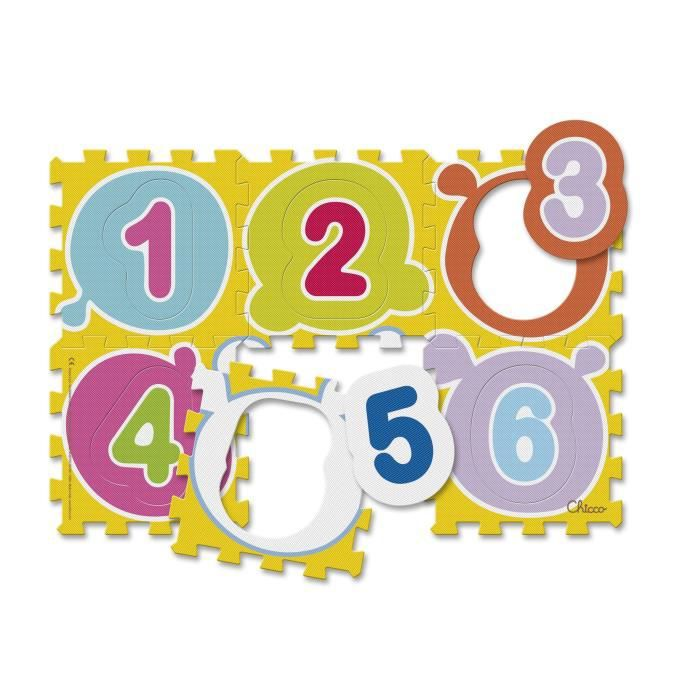 CHICCO Tapis puzzle Chiffres