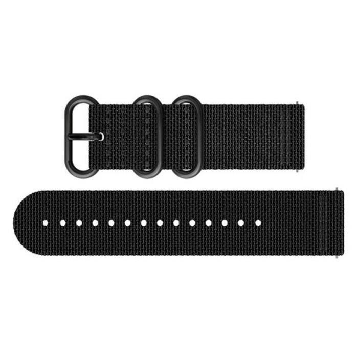 SUUNTO Bracelet de Montre Traverse Alpha Stealth Textile Strap