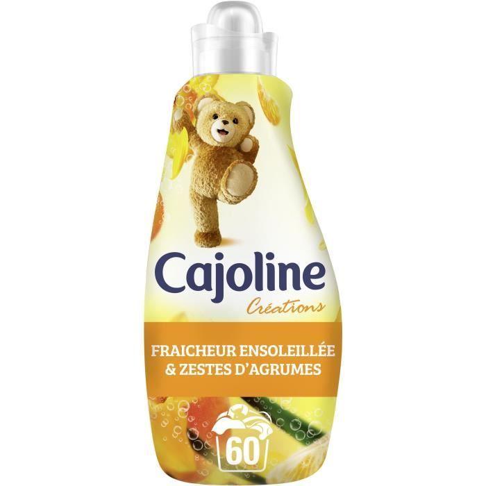 CAJOLINE Adoucissant Fraîcheur Ensoleillée 1,5L