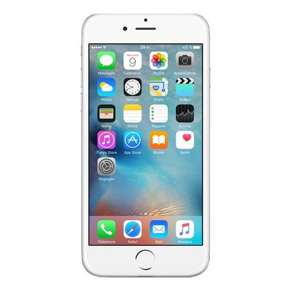 Apple Iphone 6 Smartphone Argent 16go Reconditionne Achat
