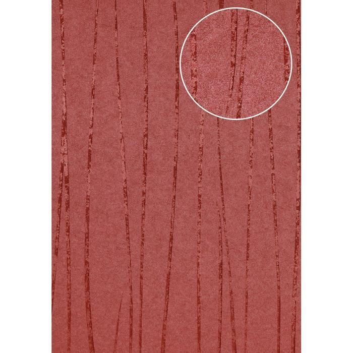 Papier Peint A Rayures Atlas Col 965 4 Papier Peint Intisse Lisse