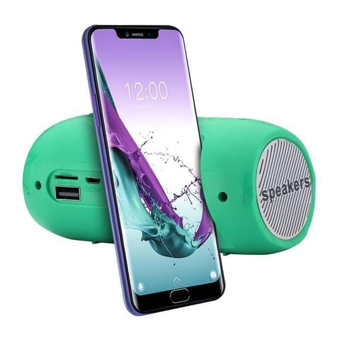ENCEINTE NOMADE Stéréo portable carte SD sans fil Bluetooth FM Hau