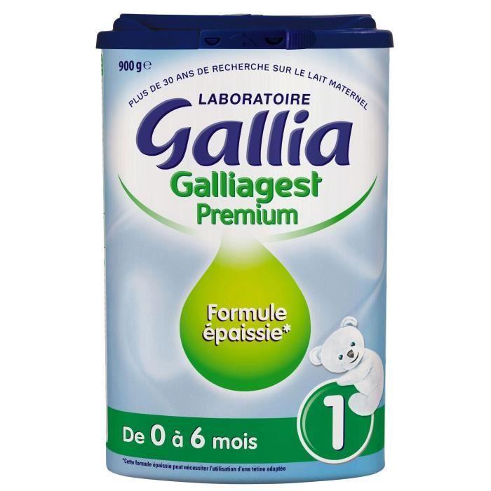 LAIT BÉBÉ GALLIA Galliagest Premium Lait en poudre 1er âge -