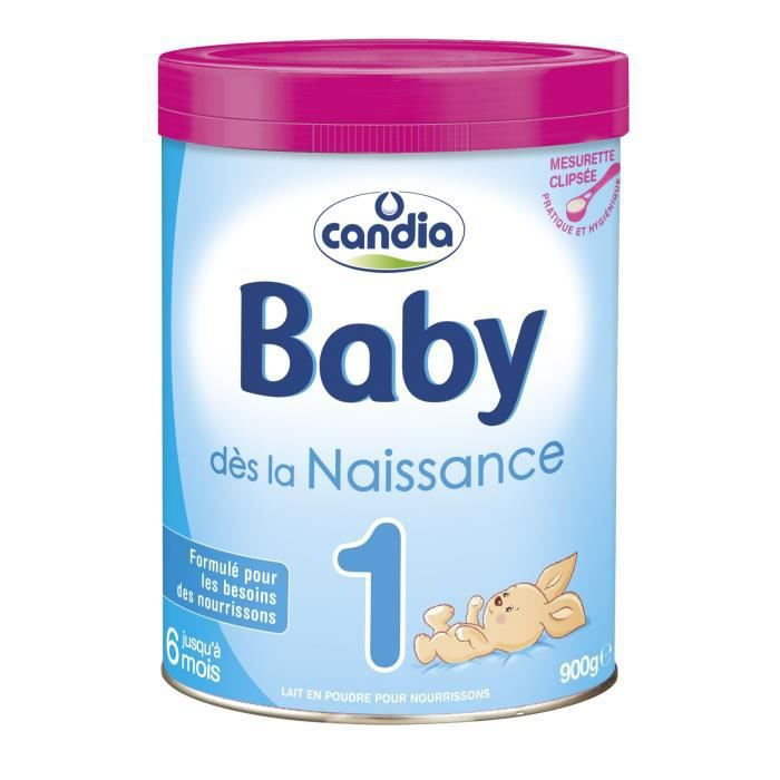 LAIT BÉBÉ CANDIA Babylait Lait infantile 1er âge 900g