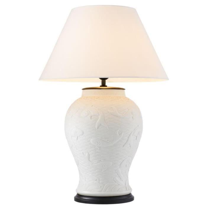 Porcelaine Casa Padrino Lampe Luxe Table De Édition Blanc En eW2YEIDH9