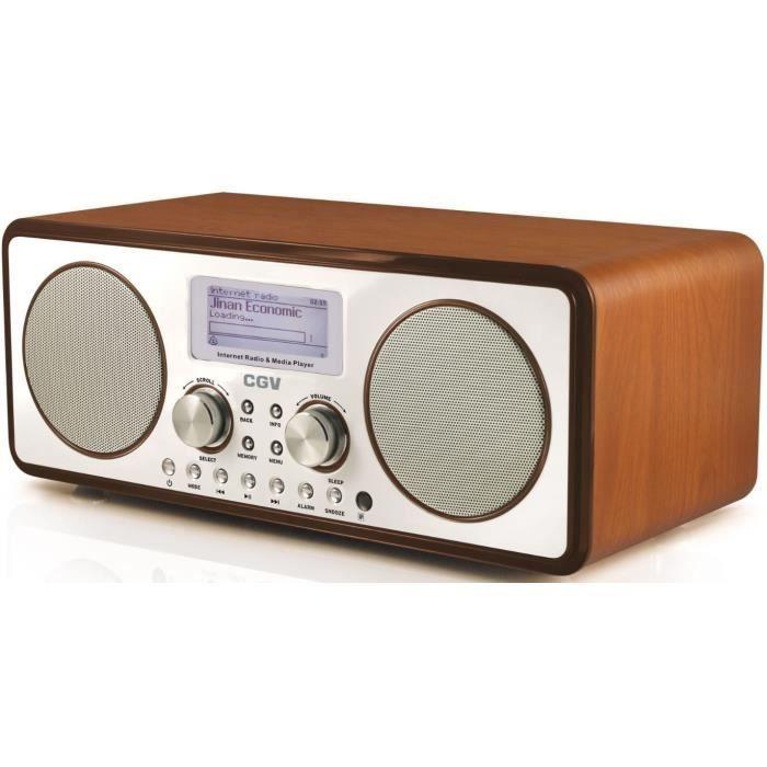 cgv 13030 radio internet dr30i 2 x 5w look vintage. Black Bedroom Furniture Sets. Home Design Ideas