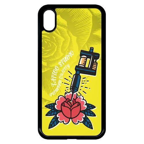 coque apple jaune iphone xr