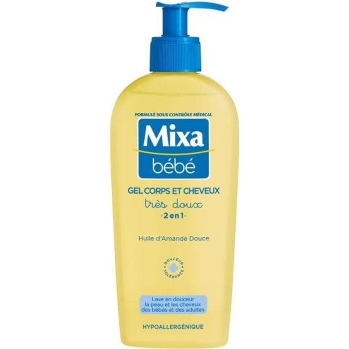 SAVON - SHAMPOING BÉBÉ MIXA BÉBÉ - Gel Très Doux Corps et Cheveux 2 en 1