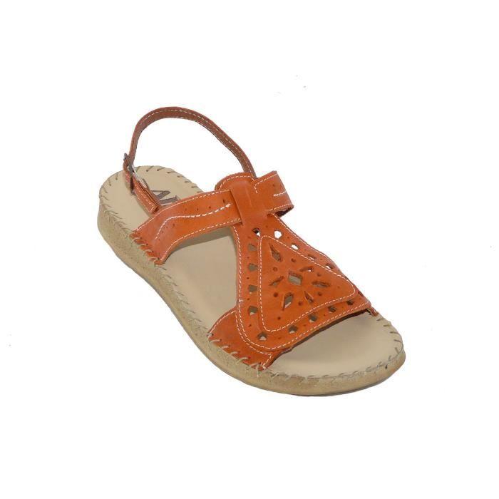 pantoufles d'été Cales grande éponge de base mot sandales de chaussures pour femmes avec des sandales en cuir mSYcnEjf8