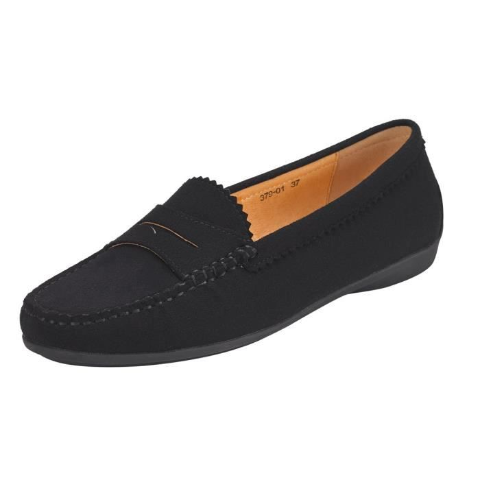 Loafers Classic Casual Canvas Slip On Shoes YP47U Taille-36 1-2 2T7tIl