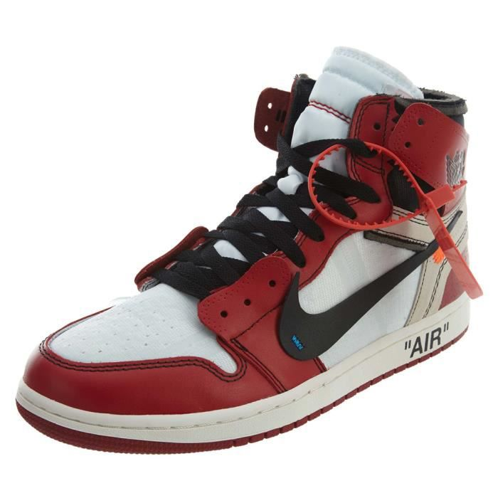 sneakers for cheap 0090a af204 Basket Nike AIR JORDAN 1 X Off-White Retro High 'Chicago ...