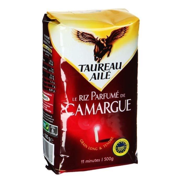 5b3b5f07562 TAUREAU AILE Le Riz Parfumé de Camargue 500g - Achat   Vente riz ...
