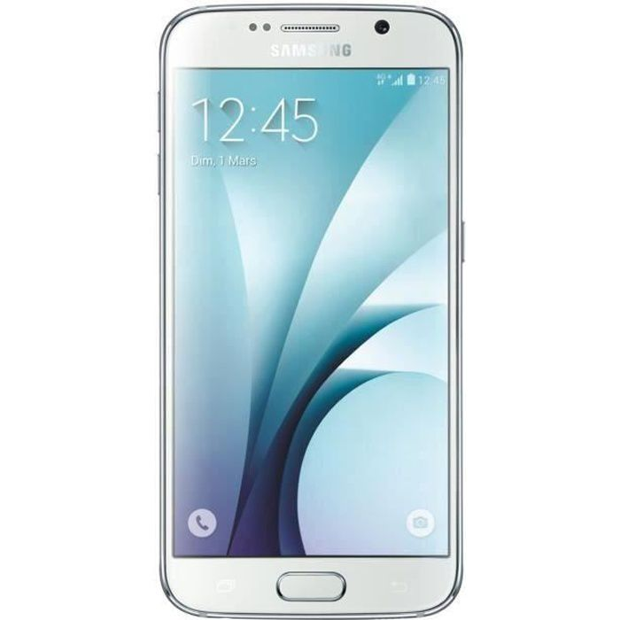 Samsung Galaxy S6 (32Go, Blanc Perle) - Achat smartphone pas cher ... 3c53ade12b6f