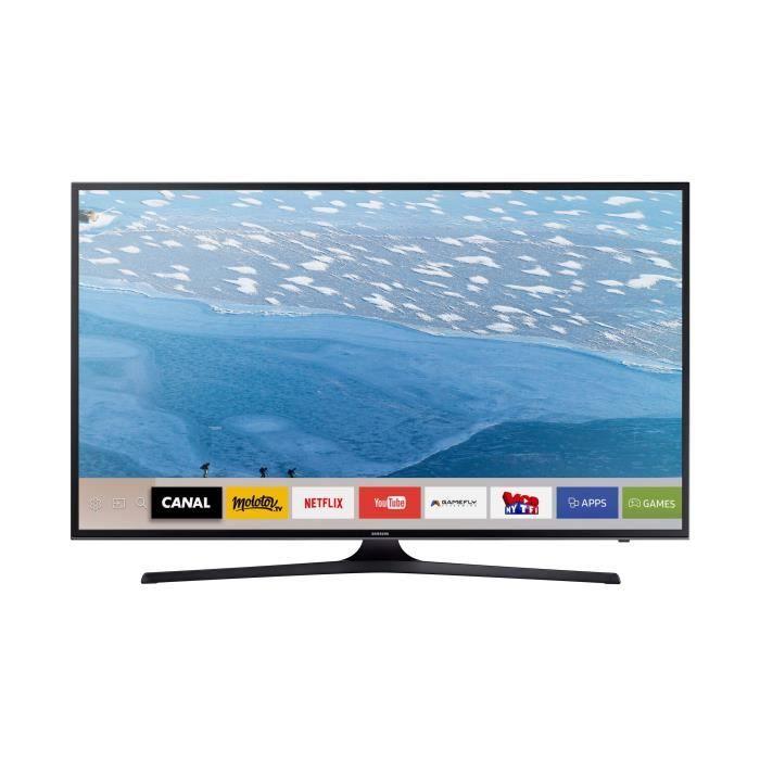 Samsung ue40ku6000kxzf smart tv led uhd 4k 101 cm t l viseur led avis et prix pas cher - Tv 140 cm 4k ...