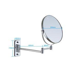 Miroir orientable achat vente miroir orientable pas for Miroir mural soldes
