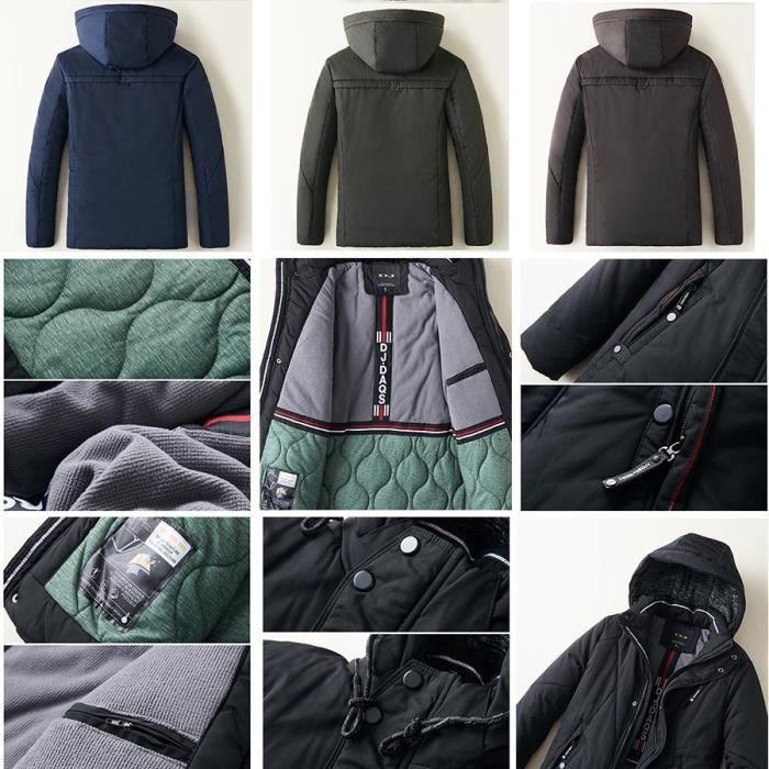 Vêtements Homme Fashion Blouson Boutique Mode Hugo Masculin doudoune Chaud Hiver Epais New Power YYvaqI