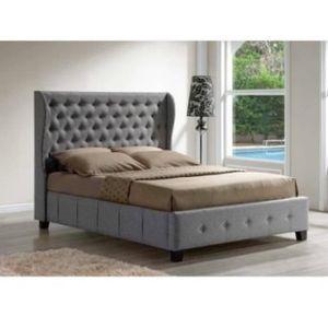 lit capitonne 160x200 achat vente lit capitonne 160x200 pas cher cdiscount. Black Bedroom Furniture Sets. Home Design Ideas