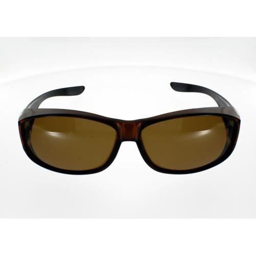 Grande Fit Plus de lunettes de vue UV400protection–Différents types - Marron - dLcKnU5