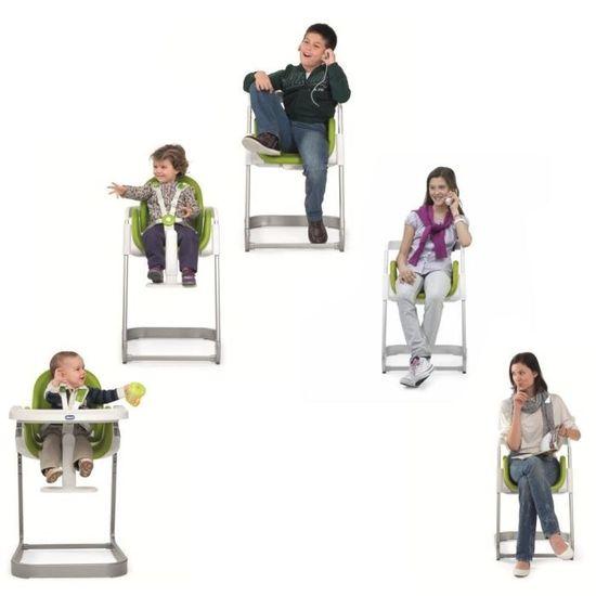 CHICCO Chaise Haute Evolutive I Sit Vert