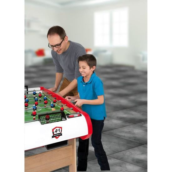 SMOBY BabyFoot Powerplay 4 en 1 - Achat   Vente baby-foot - Cdiscount 00710f99f4aa