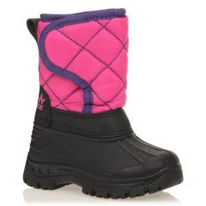 APRES SKI - SNOWBOOT WANABEE Chaussures Après-Ski Winter Kid II Rose