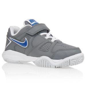 e51c0e03a79 NIKE Baskets City Court 7 Psv Chaussures Enfant Garçon Gris et bleu ...