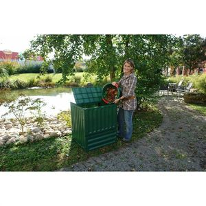 COMPOSTEUR - ACCESSOIRE Composteur ECO KING 600 L vert