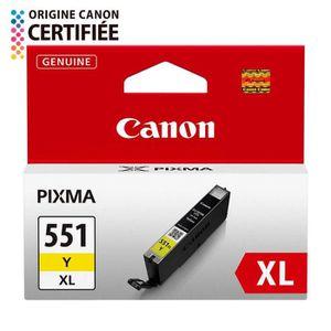 CARTOUCHE IMPRIMANTE Canon CLI-551XL Cartouche d'encre Jaune