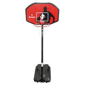 SWAGER Panier de Basket Ball Réglable The Classic Noir
