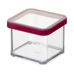 SUNDIS Boîte de conservation carrée Loft 1603001 0,5 L 10x10x7,2 cm transparent
