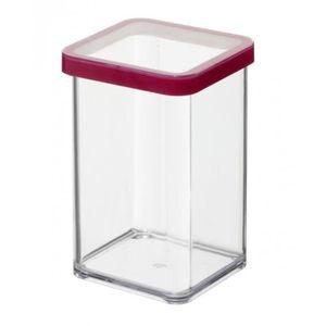 SUNDIS Boîte de conservation carrée Loft 1604001 1 L 10x10x14,2 cm transparent