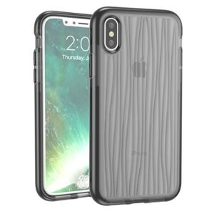 PORTE MONNAIE (#52) For iPhone X D30+TPU Moire Pattern Protectiv