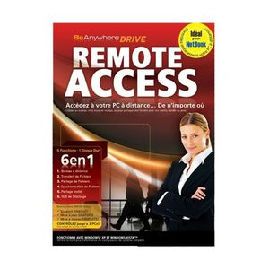 BUREAUTIQUE Be Anywhere Drive Remote Access