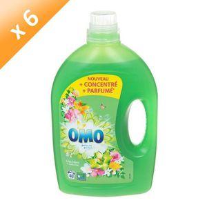 LESSIVE OMO Lessives liquides concentrées - Lilas blanc et
