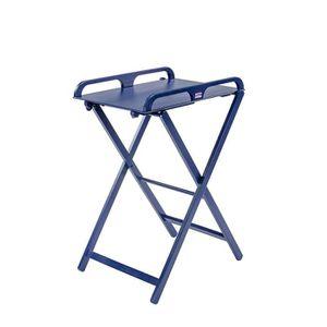 TABLE À LANGER COMBELLE Table à langer JADE Pliante laque bleu