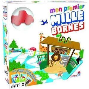 CARTES DE JEU Mon premier Mille Bornes - Tous au Zoo !
