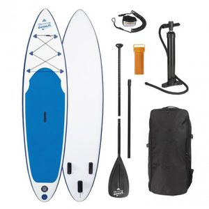 STAND UP PADDLE EASYmaxx planche de stand up PADDLE, blanc bleu, 3