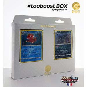 CARTE A COLLECTIONNER Coffret #tooboost Octillery et Trioxhydre - SM04 I