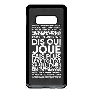 SMARTPHONE Coque pour smartphone - Noir Samsung Galaxy S10e J