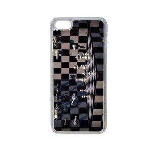 COQUE - BUMPER Coque jeu d echec 2 compatible iphone 7 plus trans