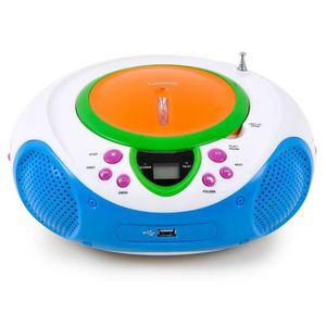 RADIO CD ENFANT Chaîne hi-fi enfants stéréo musique radio lecteur