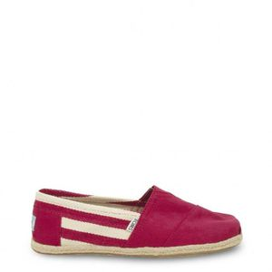 SLIP-ON TOMS Rouge Chaussures Slip-on Nouveau